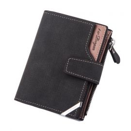 Fashion Wallet/Purse for Men; Black