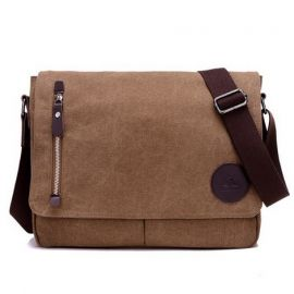 Fashion Handbag for Men; Brown