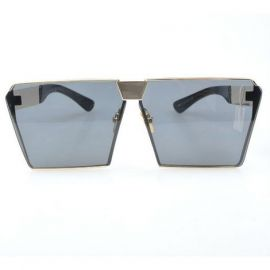 Men's Square Sunglasses; Blue