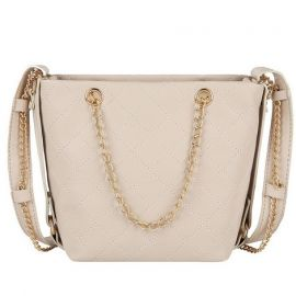 Top Handle Handbag for Women; Beige