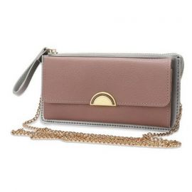 Fashion Wallet/Purse for Women; Peach