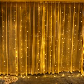 Indoor Outdoor Curtain LED String Light