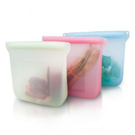 Silicone Food Storage Bags 5pk