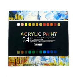 Acrylic 12 piece paint set