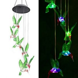 Hummingbird Solar Garden Light